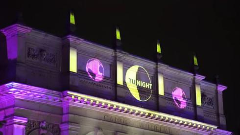 Projektion   TU-Night 2017