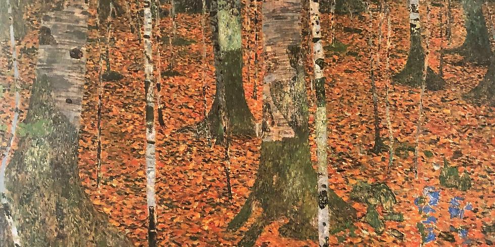 Paint it like Klimt, Birch Forest
