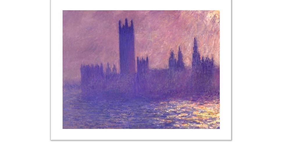 Paint it like Monet - Houses of Parliament
