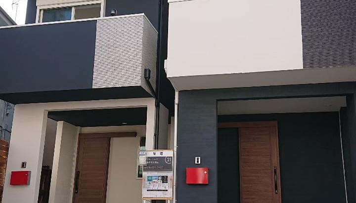桂町新築AB棟 完成しました。