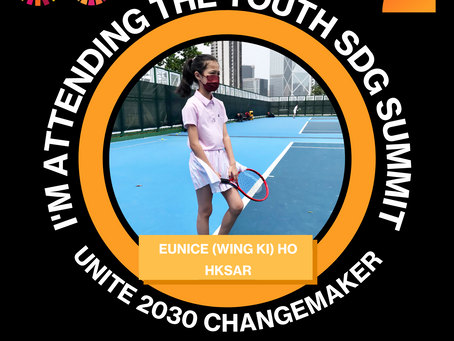 I am joining the Youth SDG Summit!