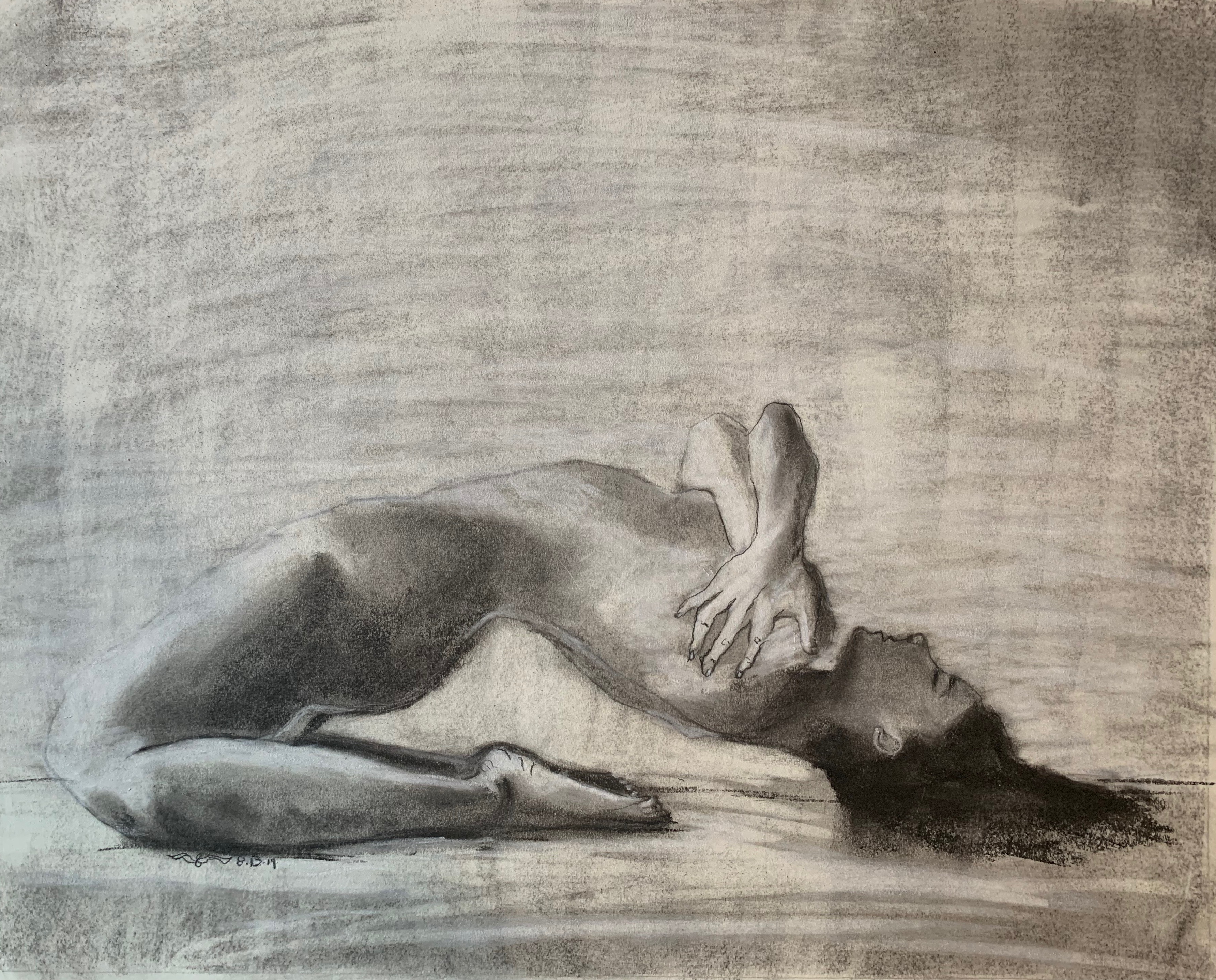 Charcoal Sketch, 2019