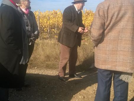 Le 6 novembre, à la découverte du vignoble de Chaume.