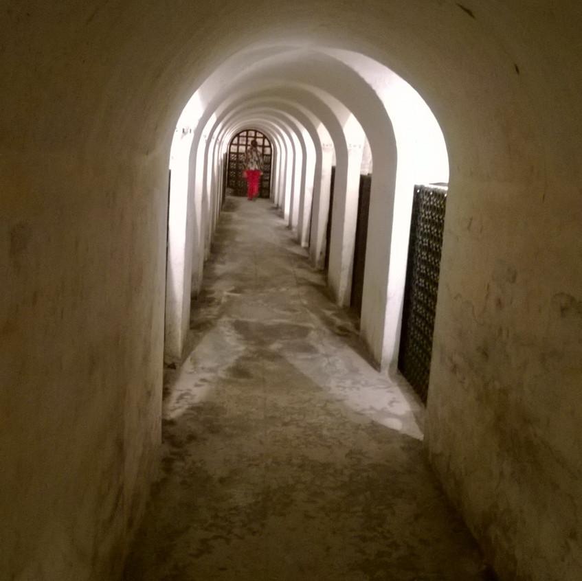 Les caves du Moulin Touchais
