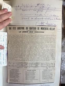 Oct 1911 Gaston Lemaire et la marche des