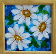 13 Acrylic Ink Little Jewels Blue Daisie
