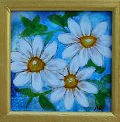 12 Acrylic Ink Little Jewels Blue Daisie