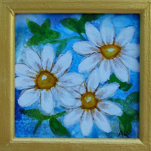 Daisies in Blue II