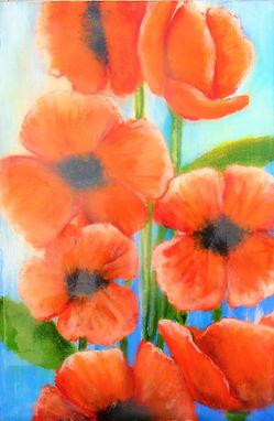 15 Encaustic N Oil Little Jewels Poppies.jpg