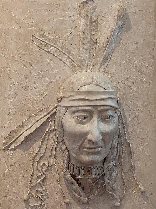Spirit Warrior Indian Head Sculptor