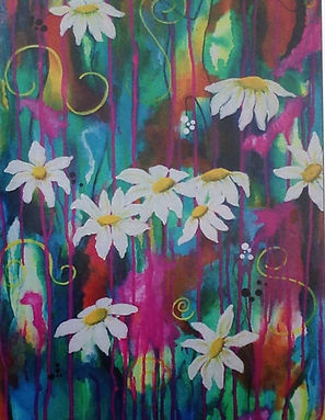 Daisies on Colourful Background.jpg