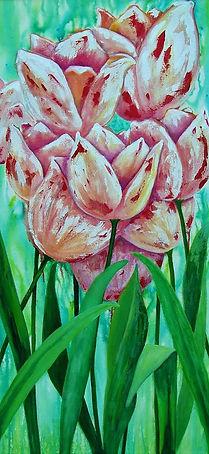 06 Acrylic Pink Tulips.jpg
