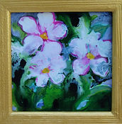 11 Acrylic Ink Little Jewels Pink with W