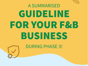 What will Phase 3 entail for your F&B business?