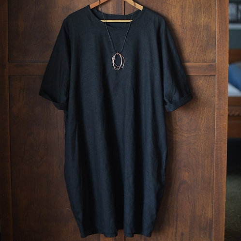 Everyday Linen Shift Dress