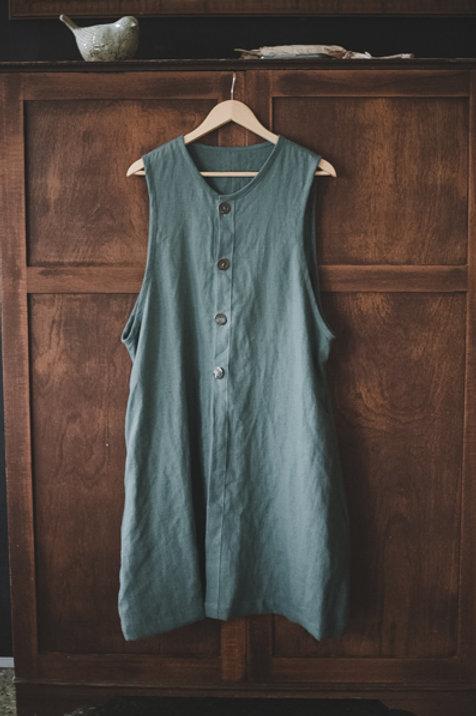 Linen Vest Dress