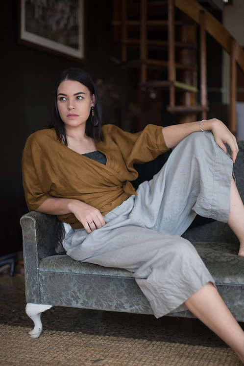 Hepburn Linen Culottes