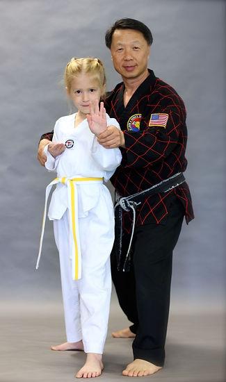 Jin R. Hong Teaches Olympic Style Taekwondo in North Kingstown, RI
