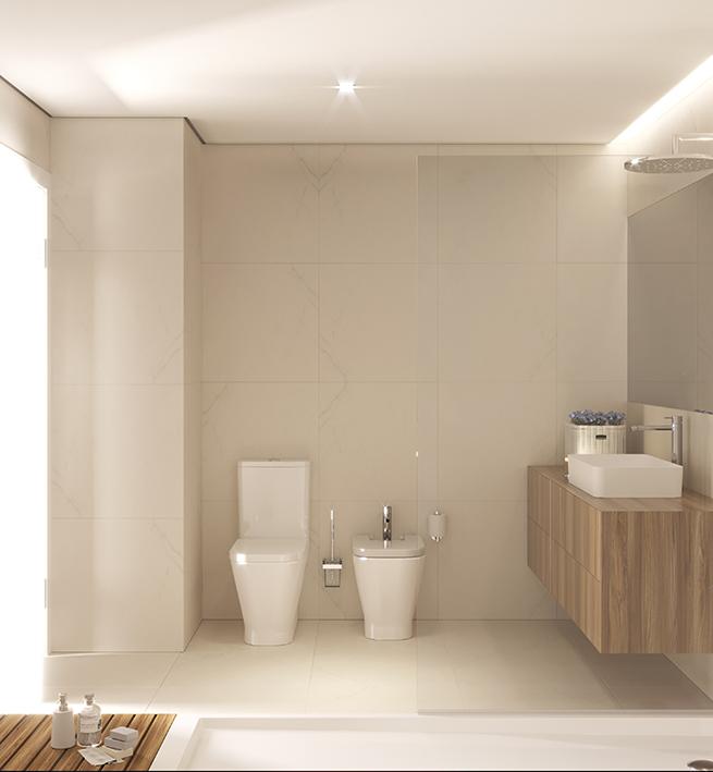 Instalação sanitária suite