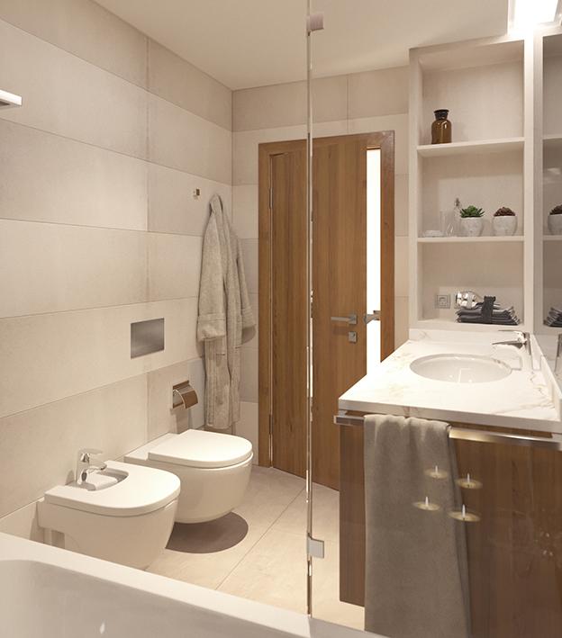 Instalação sanitária comum