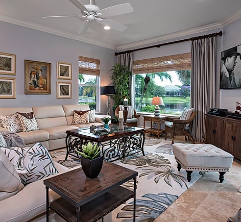 elegant living room remodel with grey curtains