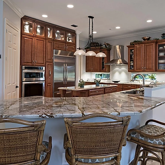elegant brown kitchen.webp