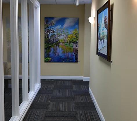 office hallway decor