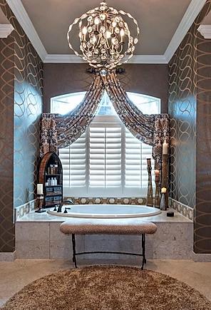 master bathroom window treatments