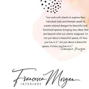 welcome to Francesca Morgan Interiors