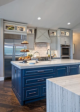 white and blue coastal kitchen reno.webp