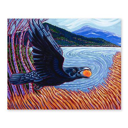 """""""Raven Stealing Orange"""""""