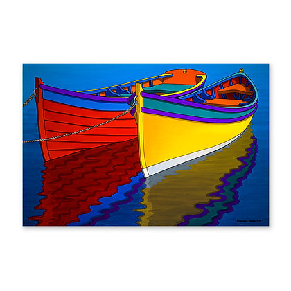 """Colourful Rowboats"""