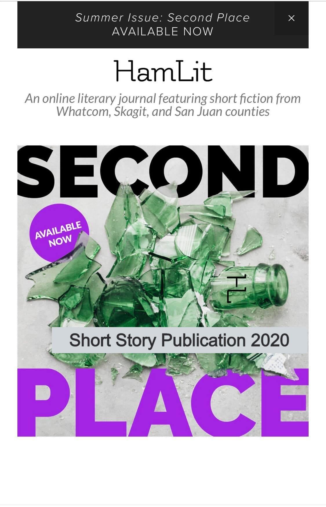 HamLit 2020 Summer Issue -- Short Story Publication