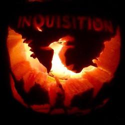 DA: Inquisition Pumpkin Carving