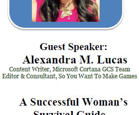 Speaker at Women & Work Empowerment Forum, WorkSource Redmond