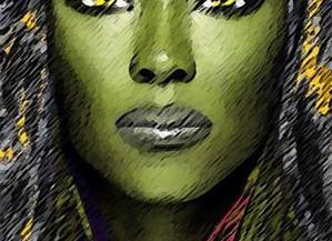 Character Design: Athena Lithegood, Intergalactic Gunslinger