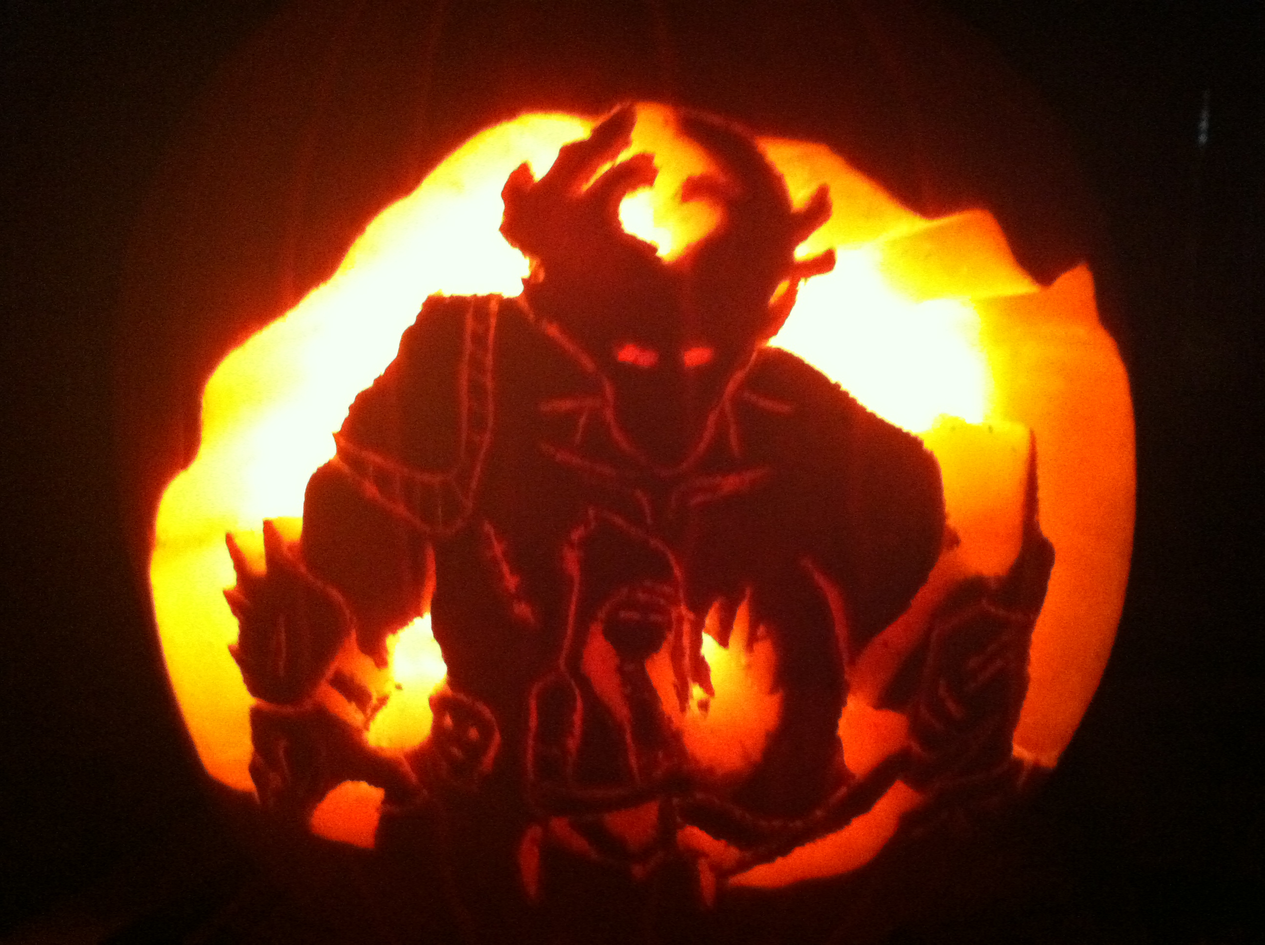 Dragon Age: Origins Pumpkin Carving