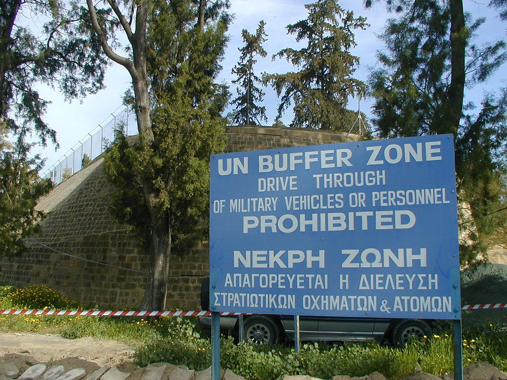 The Green Line Buffer Zone in Cyprus today