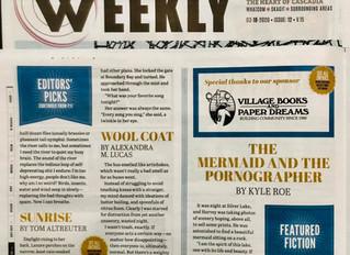 "Microfiction Publication: ""Wool Coat"" in Cascadia Weekly"