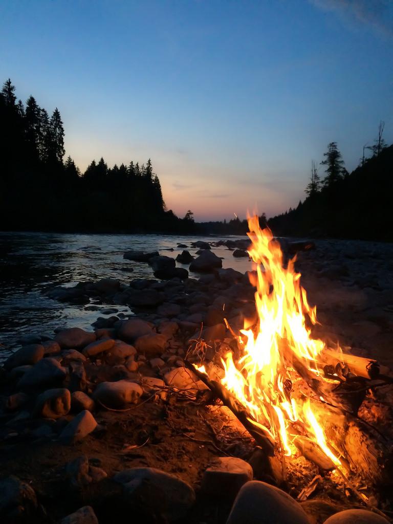 Hope around a campfire