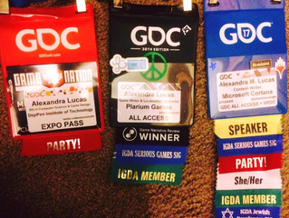 GDC 2017 Reflections: Tales from a GDC Badge Timeline