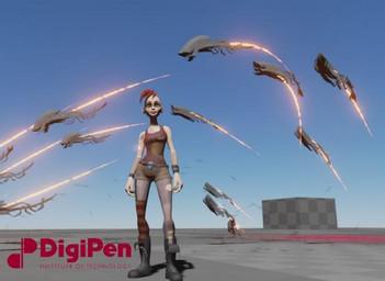 DigiPen Student Showcase Trailer - LIGHTMARE / Team Negative Gravity