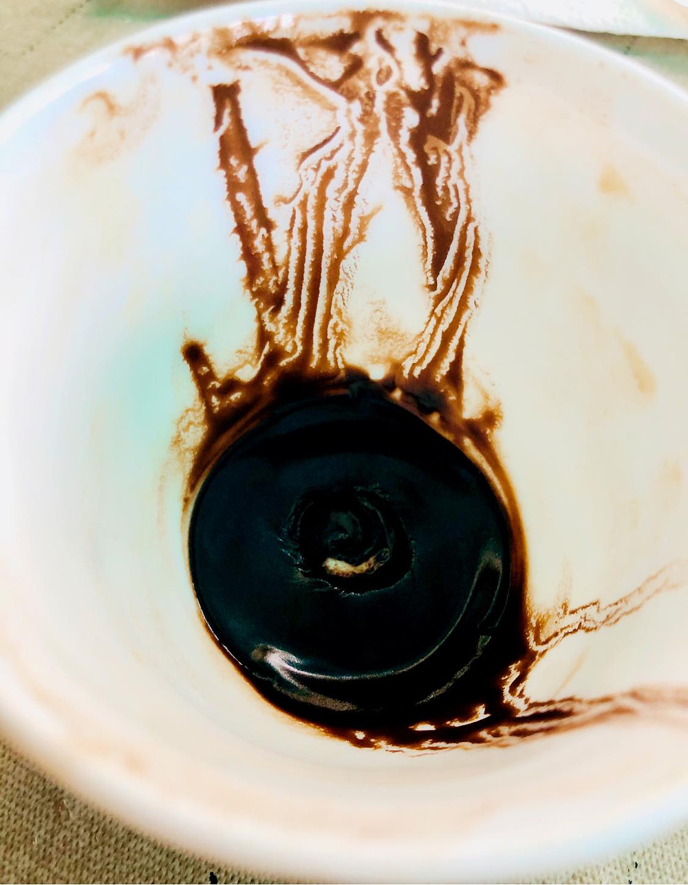 Reading the Coffee Grounds