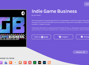 """Panelist: """"How to Build Your Network Through Speaking Engagements"""" on the Indie Game Busin"""