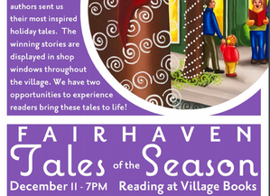 "Short Story ""Tannenbaum"" Selected as Fairhaven Winterfest ""Tales of the Season"""