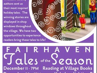 "Short Story ""Tannenbaum"" Selected as Fairhaven Winterfest ""Tales of the Season"""