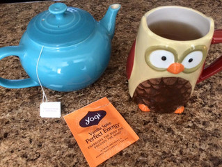 Pre-writing & Bookkeeping Binge Tea Thoughts