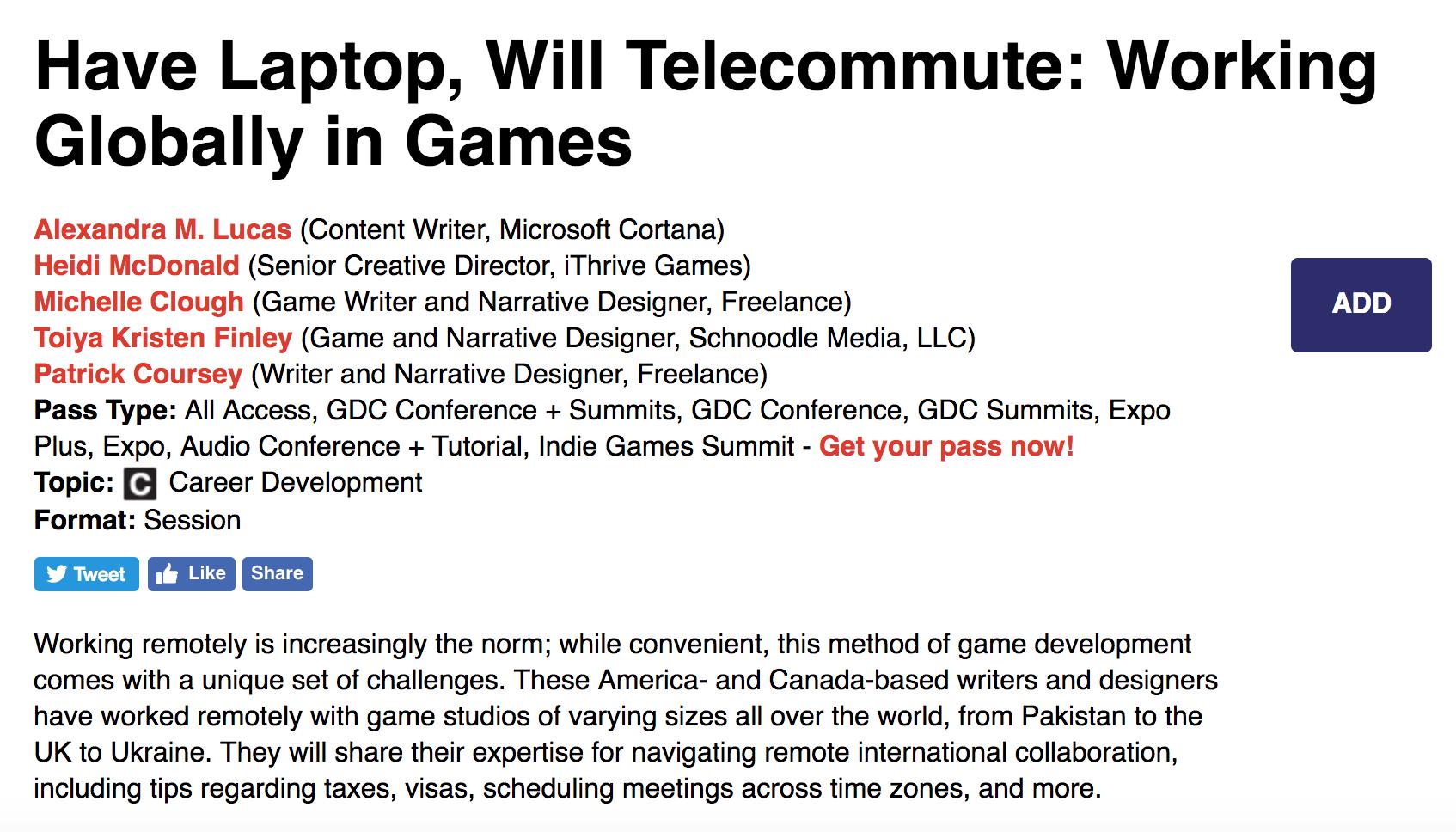Alexandra M  Lucas   Game Writer   Narrative Designer