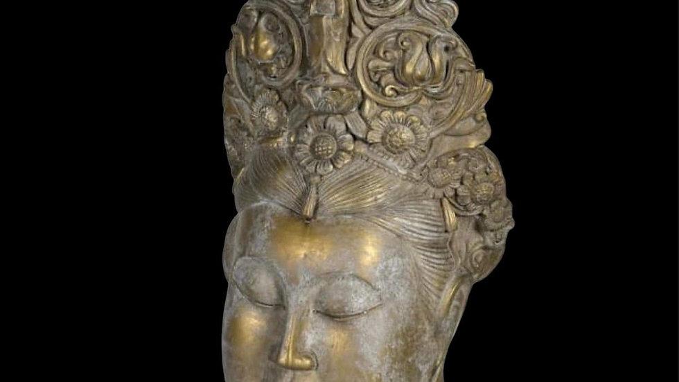 Distressed Gold Tara Head