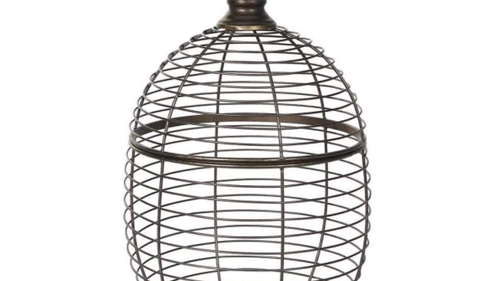 Iron Wire Pineapple Basket